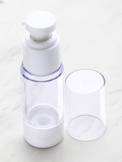 1 pieza de botella transparente para el viaje