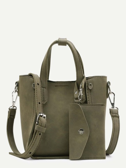 Shoulder Bag With Purse