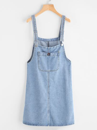 Vestito in denim Pinafore con tasche