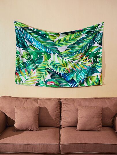 Jungle Print Wall Tapestry
