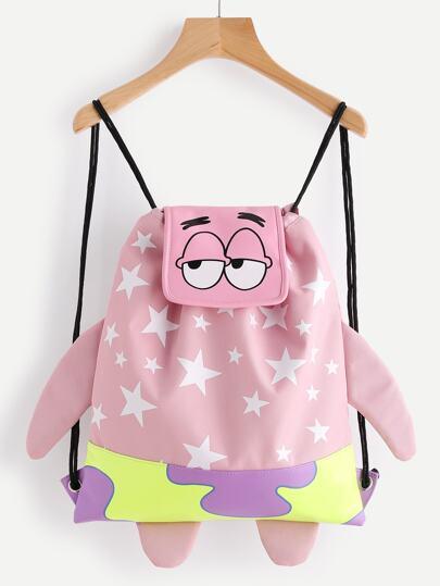 Spongebob Shaped Cute Backpack