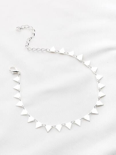 Bracccialetto di triangolo geometrico