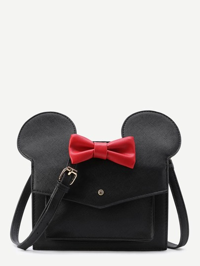 Mickey Design Cute PU Shoulder Bag
