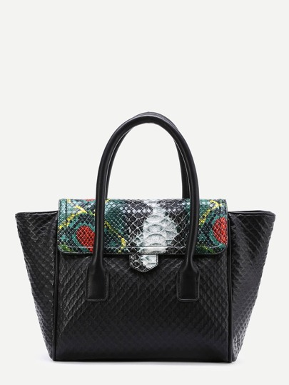 Sac fourre en PU en crocodile