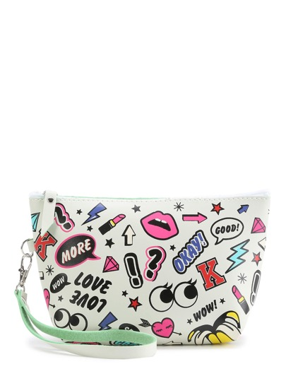 Trousse con stampa mista