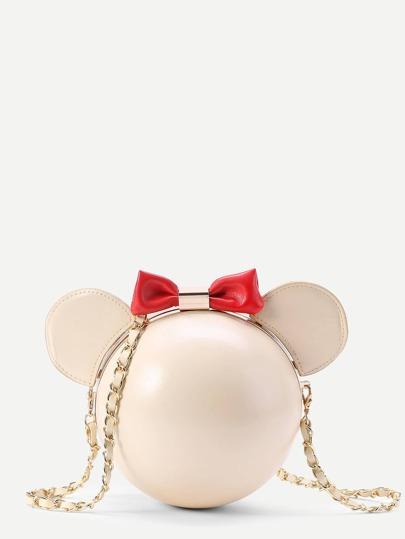 Bandolera de pu en forma de Mickey
