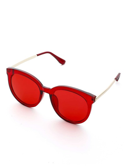 Exaggerated Frame & Lens Sunglasses