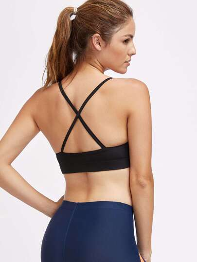 Active Criss Cross Back Gym Bra