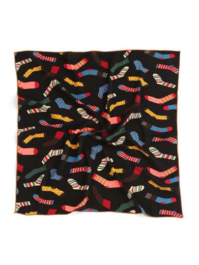 Socks Print Bandana