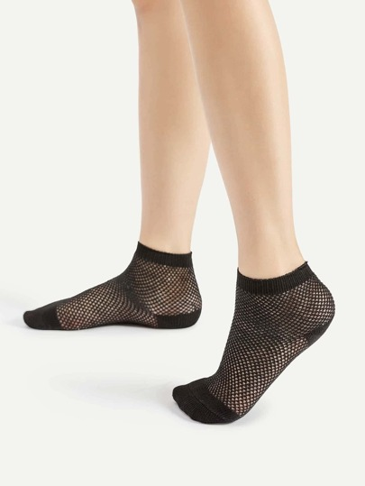 Hollow Out Ankle Socks