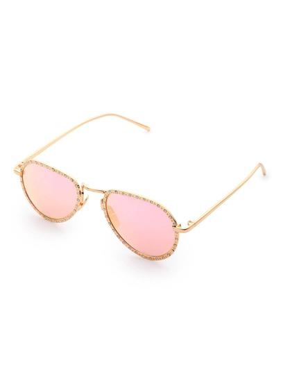 Cadre cristal lunettes