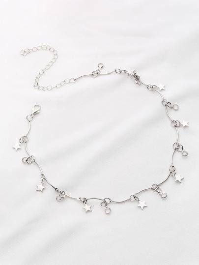 Choker Halskette mit Sterndetail