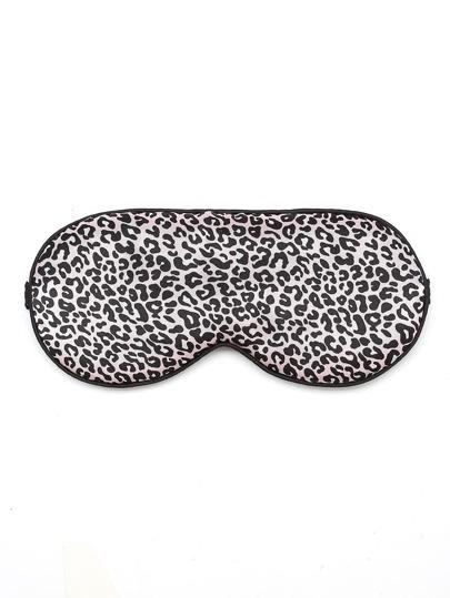 Leopard Pattern Sleep Eye Mask