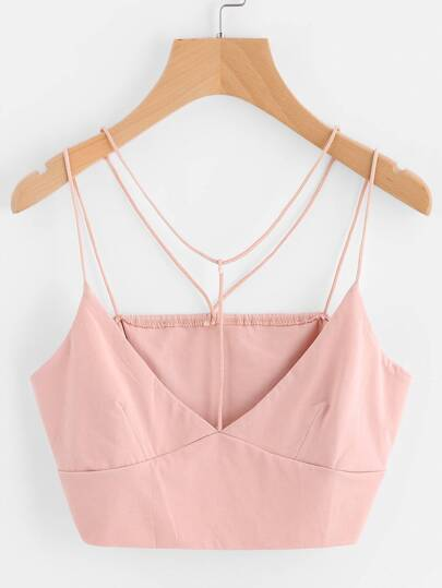 Strappy Crop Cami Top