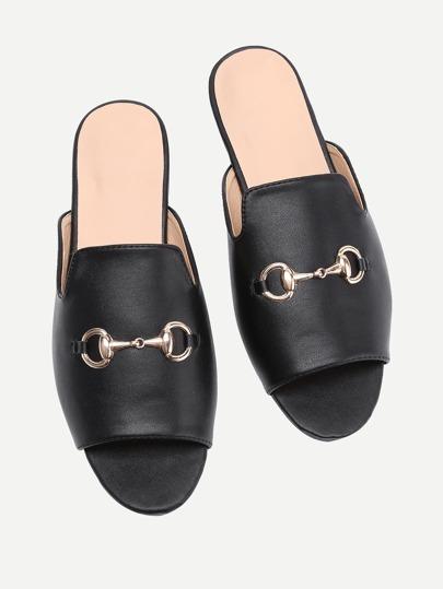 Sandales métallique en PU