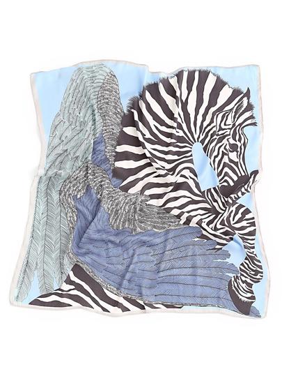 Zebra Print Bandana