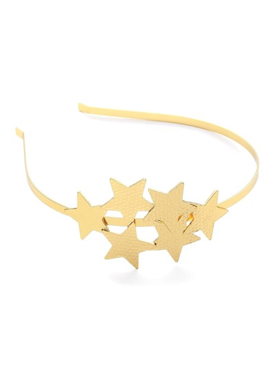 Multi Star Embellished Headband