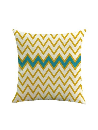 Chevron Striped Print Pillowcase Cover