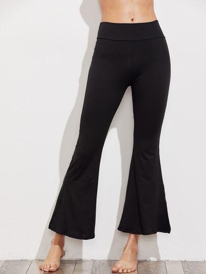 Pantaloni a campana da yoga