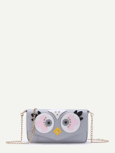 Chick Pattern Crossbody Bag