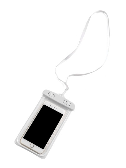 Clear 6 Inch Waterproof Phone Pouch