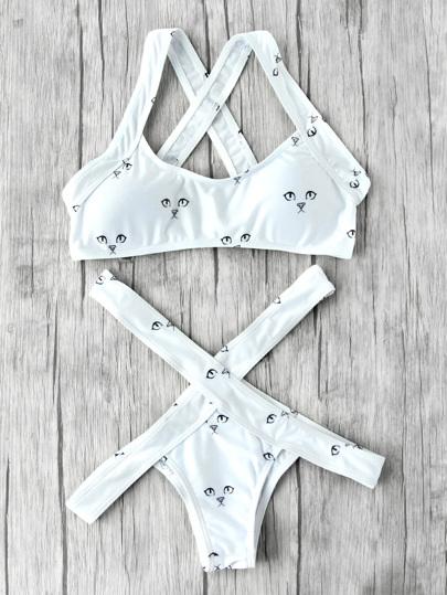 Set di bikini stampati