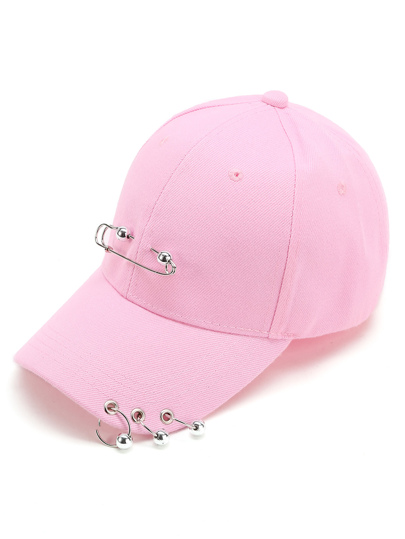 Pin & Ring Design Baseball Cap
