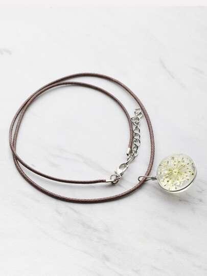 Модное ожерелье с подвеской