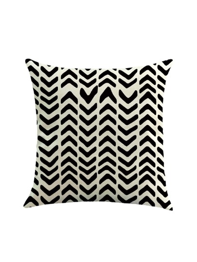 Chevron Print Pillowcase Cover
