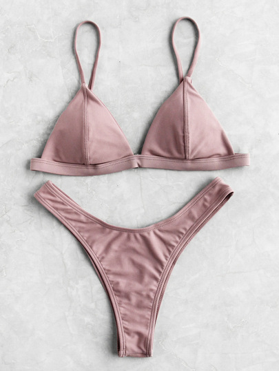 Ensemble de bikini triangle