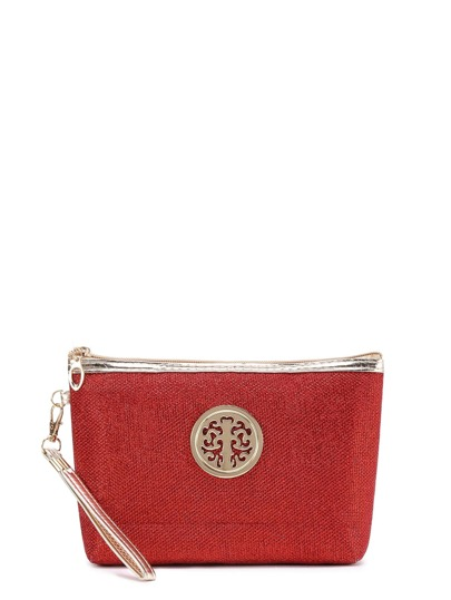 Trousse con bordo metallico