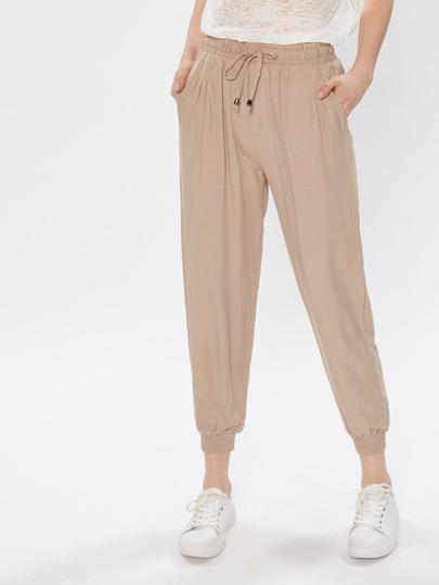 Pantalons taille élastique