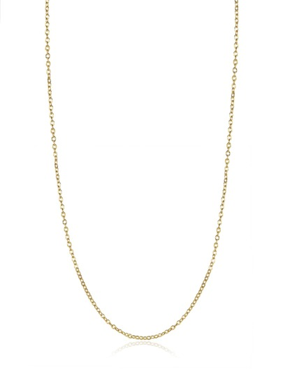 Simple Plated Chain Necklace