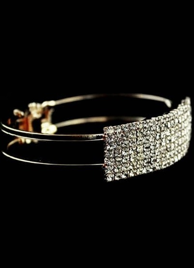 Fashion Gold Crystal Bracelet