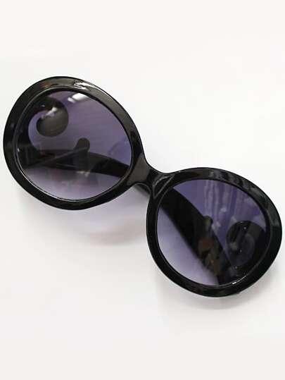 Gafas de sol lentes negros-violeta