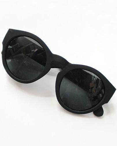 Black Lenses Round Sunglasses