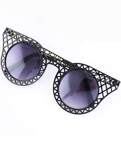 Black Hollow Cool Sunglasses