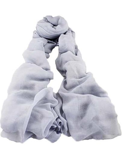 Vintage Grey Sheer Scarves