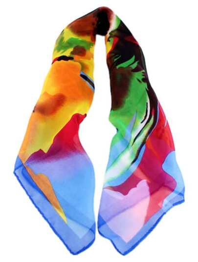 Fashion Multicolor Floral Scarves