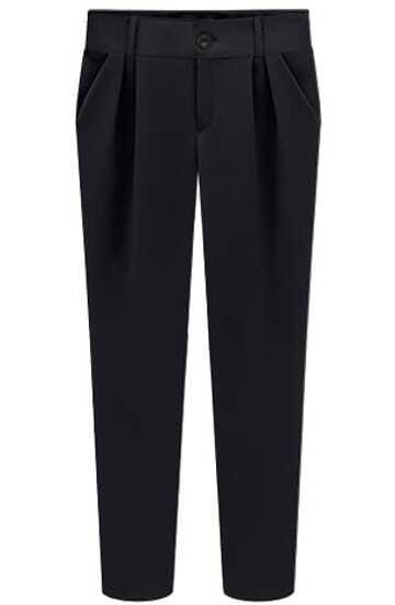 Black Slim Pockets Pencil Pant