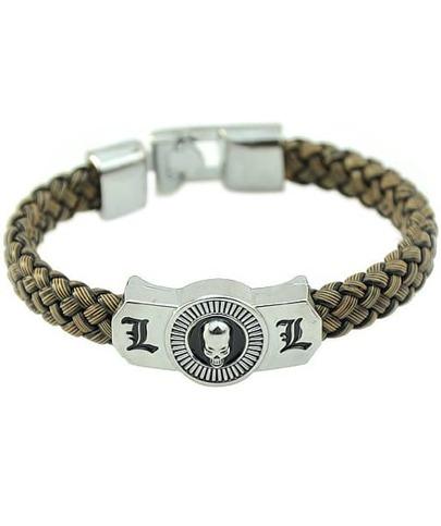Bracelet vintage image crâne