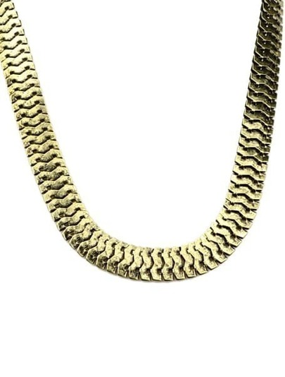Retro Gold Chain Necklace