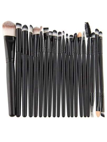 Lidschatten Kajal Make up Pinsel Set-20 Stücke