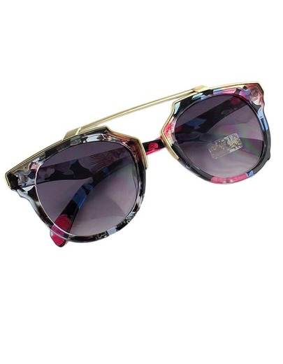 2015 New Coming Mixed Color Women Fashion Sunglasses