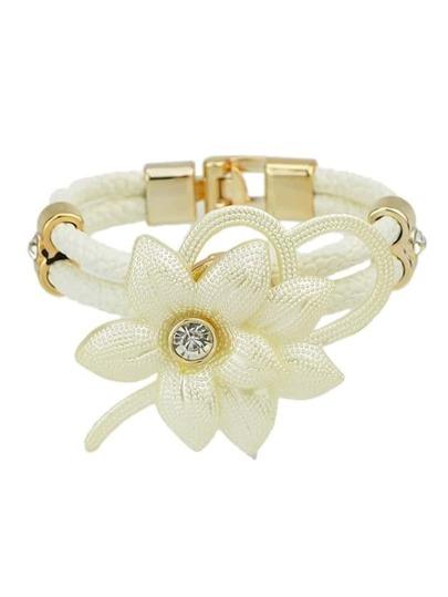 Latest Design Mixed Color Women Leather Wrap Bracelet