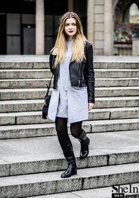 Grey Pockets Jacket