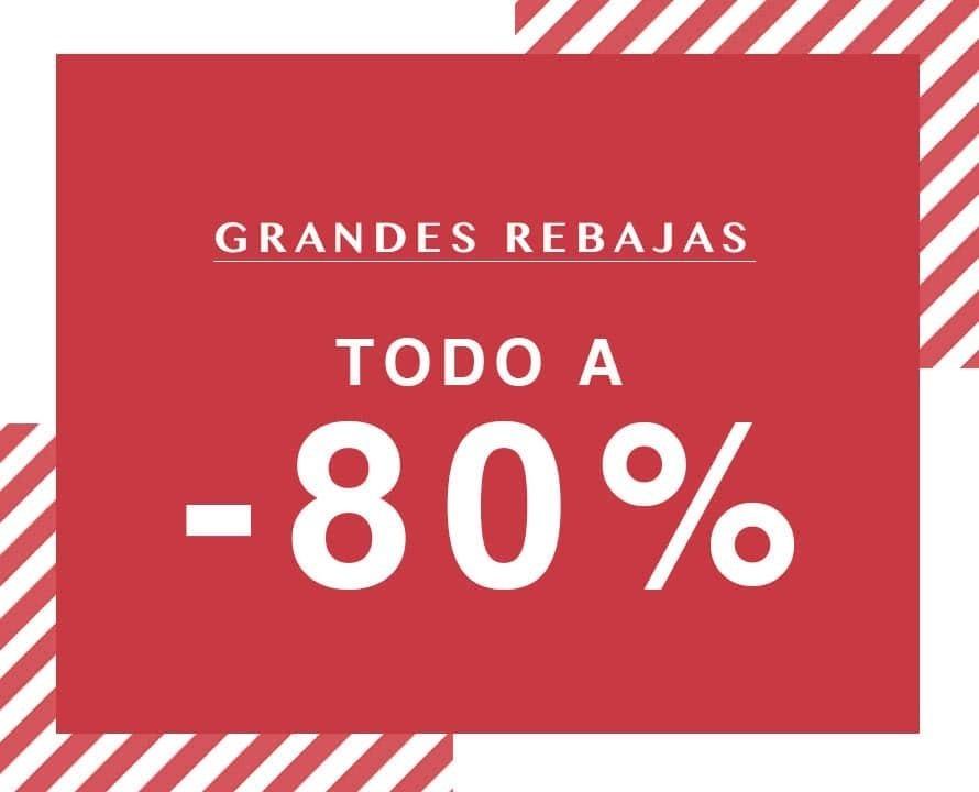 Grandes rebajasHasta -85%