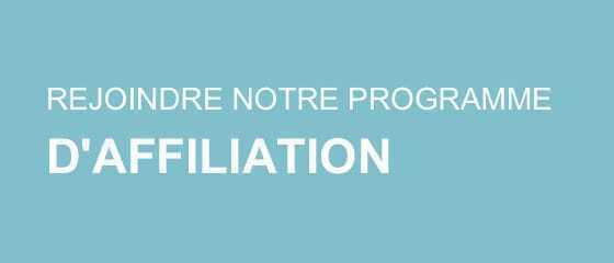 REJOINDRE NOTRE PROGRAMME D'AFFILIATION