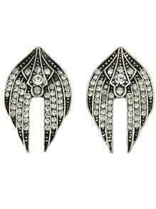 Flying Swallow Shaped Small Stud Earrings