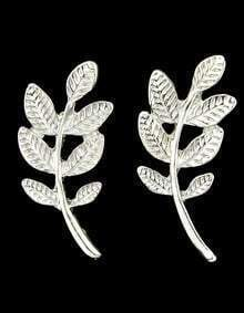 Cheap Style Alloy Simple Leaf Earrings